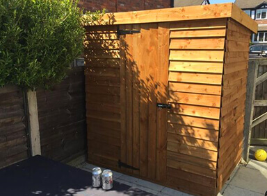 Wooden Sheds New Moston