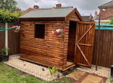 Higher End Garden Sheds