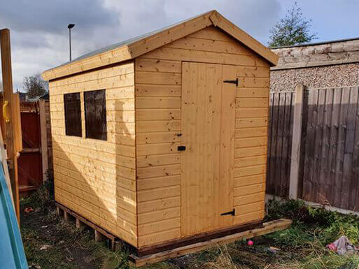 Apex Wooden Sheds Higher End