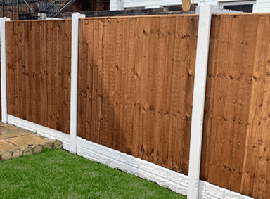 Vertical Fence Panels Peel Green