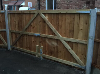 Double Gates Harwood