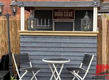 Outdoor Wooden Pub Walshaw
