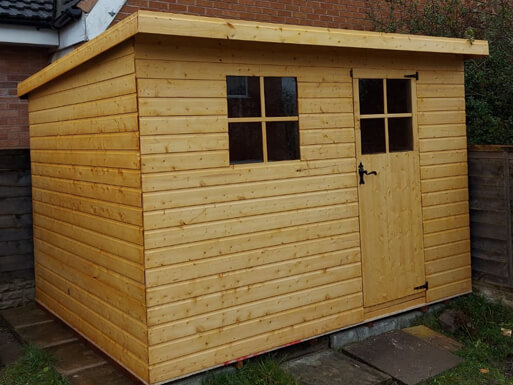 New Garden Shed Eccles
