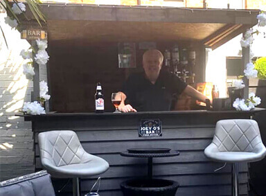 Outdoor Garden Bar Harwood