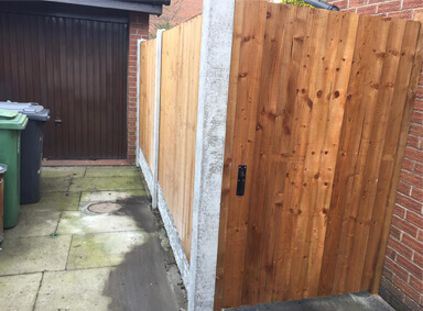 New House Gate Urmston
