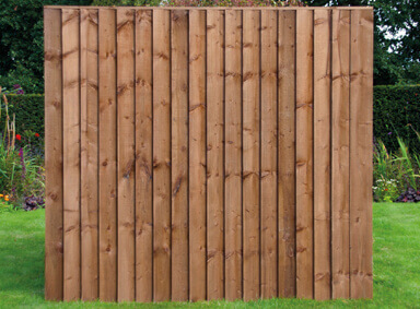 Vertical Fence Panels Reddish Green