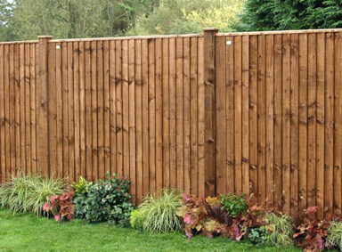Wooden Fencing Reddish Green